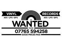 """Vinyl Records LP's, 7"""" Singles & EP's & CDs Wanted"""