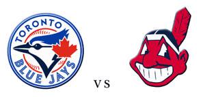 Blue Jays vs Cleveland Indians (2-4 tickets) Sept 6th to 9th
