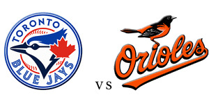 Blue Jays vs Orioles Wed Sept 28th 7pm (2 tickets)