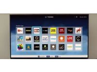 """48"""" TOSHIBA SMART WIFI FHD LED TV CAN DELIVER"""
