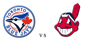 MAY 10 Toronto Blue Jays CLEVELAND INDIANS Tickets s129 r1AISLE
