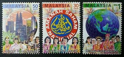 Malaysia Unit Trust Smart Investor Choice 2000 Costume Earth Ethnic  Stamp  Mnh