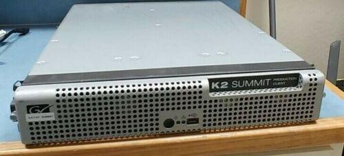 Grass Valley Summit K2 Server K2-XDP-4SD w/Two 771-0359-00 DUAL CODEC Cards~SDI
