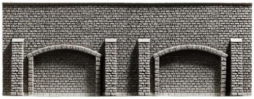 Noch 48059 Tt Gauge, Arcade Wall, Extra Long, 20 5/16x3 7/8in 1qm=3 48, 05€