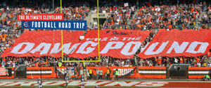 CLEVELAND BROWNS BUS TOURS WITH ELITE SPORTS TOURS