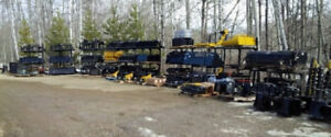 SKID STEER, TRACTOR & EXCAVATOR ATTACHMENTS