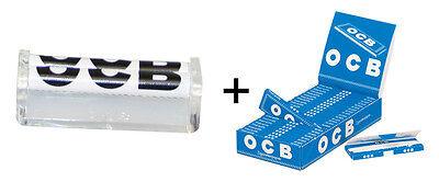 PGS Nr.12: OCB® Roller, cristal 70mm + OCB® Blau 50 Blatt / 25er (Dreher,Papers)
