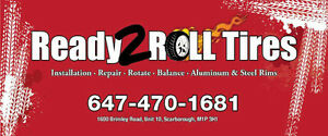 NEW WINTER TIRES AND RIMS ON SALE, SCARBOROUGH