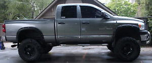 2007 Dodge Power Ram 1500 SLT Pickup Truck LIFTED RIMS EXHAUST Stratford Kitchener Area image 4