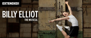 Billy Elliot the Musical @ Stratford  Theatre  May 9 at 8:00 pm
