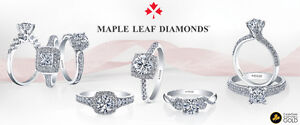 Maple Leaf Diamonds- 'I am Canadian' Squitti's