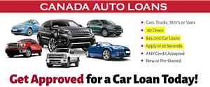 Car Loans $0 Down | No SIN# | Low APR
