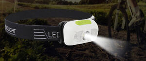 camping headlamp with USB charge