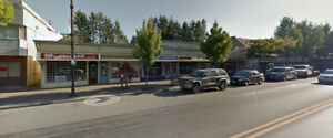 office retail space for lease,for rent Aldergrove fraser highway