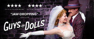 2 Tickets for Stratford Festival's Guys and Dolls TODAY