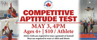 Competitive Gymnastics Tryouts