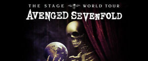 FINAL CALL★★Avenged Sevenfold, Breaking Benjamin ★★MON Jan 22 7P
