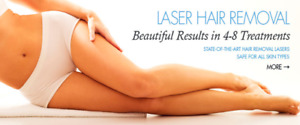 LASER HAIR REMOVAL ONLY $300