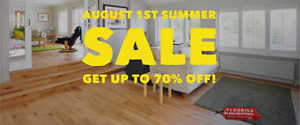 [SUMMER SALE] GET UP TO 70% OFF ALL FLOORING IN ONTARIO!
