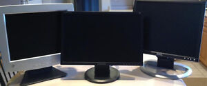 2 Monitors Varying Sizes buy 1 or 2 your choice Make an Offer