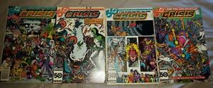 FOR SALE - CRISIS ON INFINITE EARTHS 1985 DC MAXI SERIES