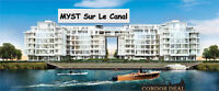 condo for rent THE MYST WATER FRONT DOWNTOWN MONTREAL