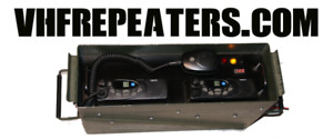 PORTABLE VHF REPEATERS - HEAVY INDUSTRY - MINING - CONSTRUCTION
