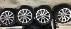 Audi A6/S6/A7/S7 winter tires and rims - $1500