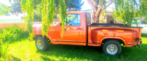 Selling 1983 ford step side short box