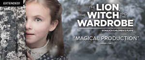 Lion, Witch and the Wardrobe in Stratford on October 29 at 2