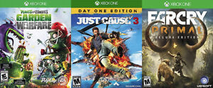 Trading Xbox One Just Cause 3, Plants vs Zombies, Farcry Primal