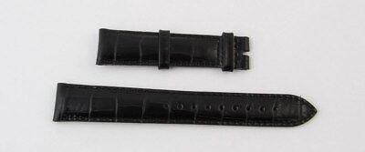 Emporio Armani Lederband In Schwarz 18 mm