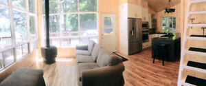 Lakefront Muskoka cottage for rent weekly