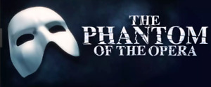 Wanted: 2 tickets to Phantom of the Opera - 2 pm - Thurs, Oct 19