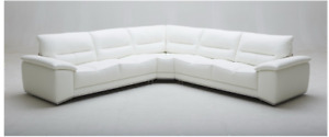 Leather sectional living room on SALE!