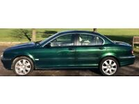 X-TYPE JAG 2006 AUTO RACING GREEN EXCELLENT CONDITION FOR YEAR with FSH