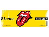Rolling Stones tickets 25 May London.