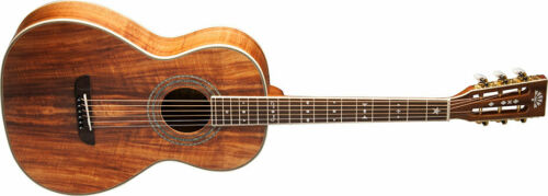Washburn PARLOR P55 KOA ACOUSTIC Guitar, Brand New. WP55NS-D-U