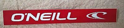 "RED 6"" O'NEILL SURF SURFING STICKER"