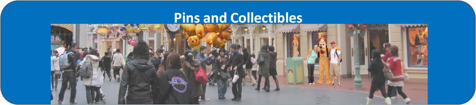 Mickey Pins Collectibles