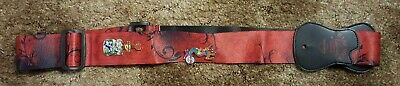 Hard Rock Cafe Guitar Strap with Pins