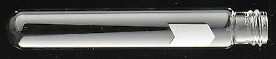Screw Thread Glass Test Tube W.marking Spot 20 X 125mm 5 Inch Lot Of 250