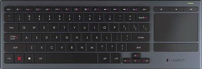 Logitech K830 Illuminated Living-Room Keyboard with Built-in Touchpad segunda mano  Embacar hacia Mexico