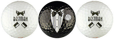 Best Man Wedding Golf Ball Gift