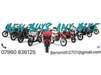 Ben Buys Any Bike Honda Kawasaki Suzuki Yamaha