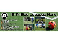 5 Star Football - Great 5-A-Side Leagues - HD Recording of your games plus Man of the match awards