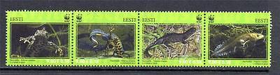 ESTONIA MNH 2010 SG628-631 PROTECTED SPECIES