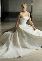 Ivory Anjolique wedding dress