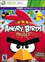 Angry Birds Trilogy for Xbox 360 Kinect w/ Case - Exc con