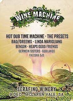 2 x Hot Dub wine machine adelaide
